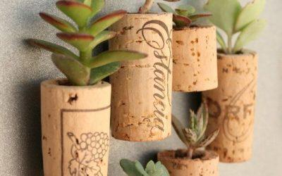 Idea creativa per riciclare i tappi in sughero