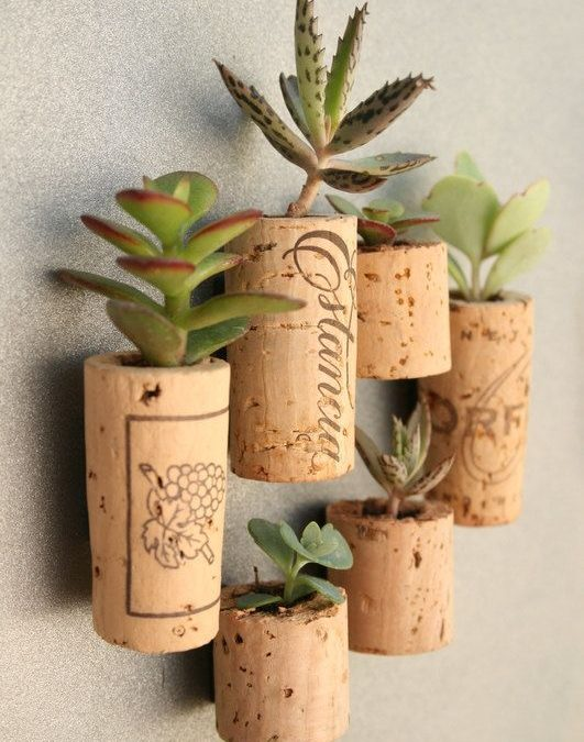 Creative ideas to recycle cork stoppers